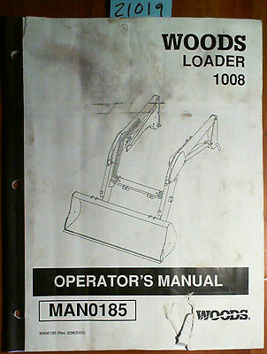 Woods Loader | Owner's Guide to Business and Industrial