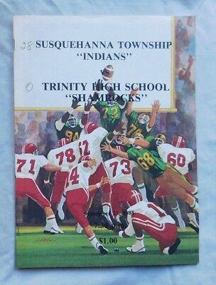 Susquehanna Township Indians Vs Trinity High School Pa Program 9/23/88