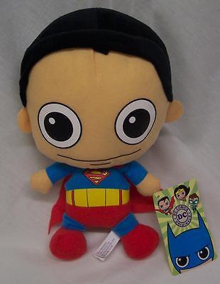 "DC Comics BABY SUPERMAN 9"" Plush STUFFED ANIMAL TOY JLA Justice League NEW"
