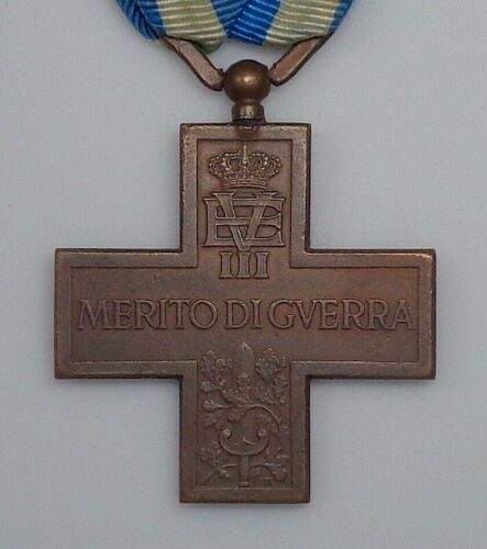 (1922) Italy WWI War Merit Cross with Sword Device.