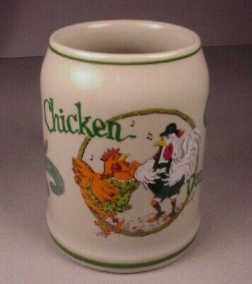 Vintage Lowell Davis Chicken Dance German Beer Stein Mug Germany Oktoberfest .5L