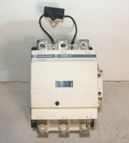Schneider Electric LC1 D 150 Contactor Telemecanique Square D LC1D1506