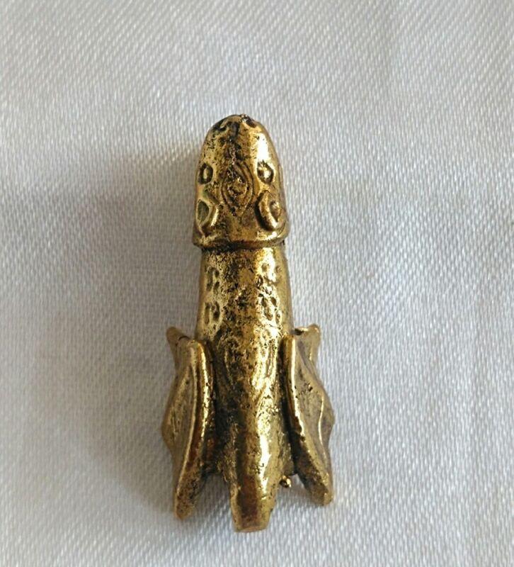Paladkik Pendant Fully Love Luck Charm Trade Wealthy Amulet Thai Talisman # 007