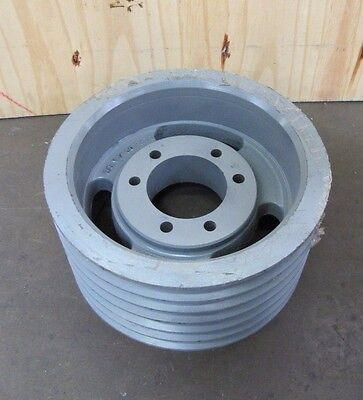 No Name 68v1400fh71 Steel Six 6 Groove V-belt Pulley Sheave 14o.d. 4-14 Bore