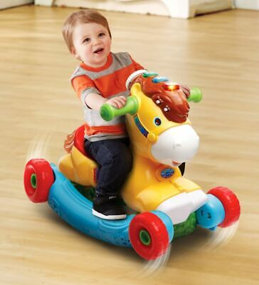 Rocking Horse For 1 Year Old Toddlers Rock Toys Boys Girls Baby Wheels - Learning Toys For 1 Year Old Boy