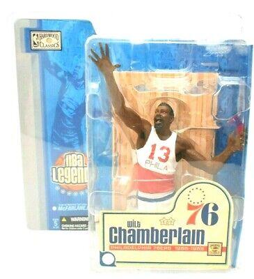Wilt Chamberlain McFarlane NBA Legends Hardwood Classics Action Figure (NEW)