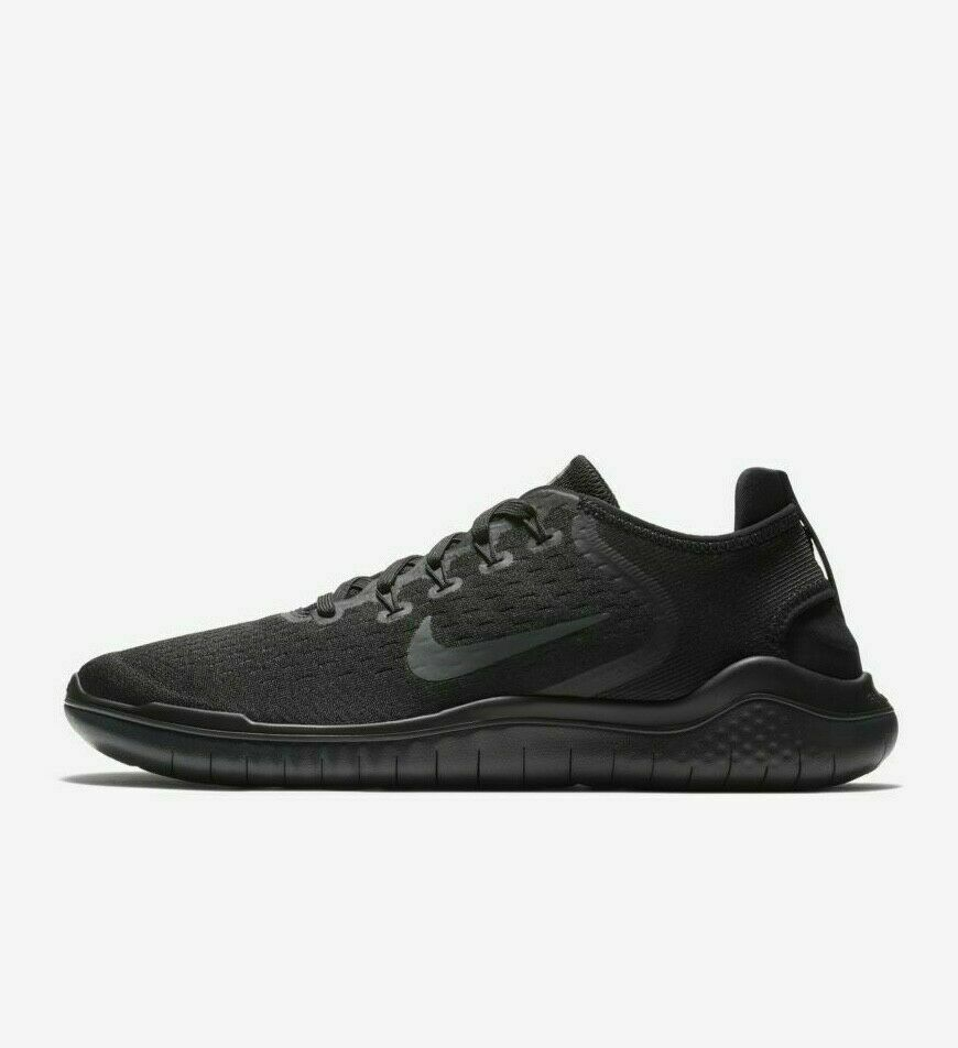 Nike Free RN 2018 Black Anthracite 942836-002 Men's Running Shoes NEW!