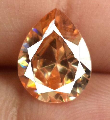 3.90 Ct Pakistan Brown Axinite Gemstone 100% Natural Pear Cut Certified A15653