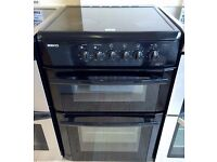 BEKO black 60 cm ELECTRIC COOKBEKOER, 4 MONTHS WARRANTY, FREE LOCAL DELIVERY