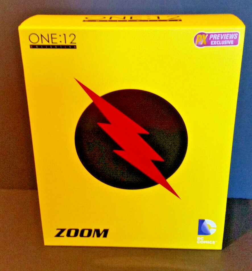 NEW One:12 DC Heroes Reverse Flash Action Figure Zoom Mezco