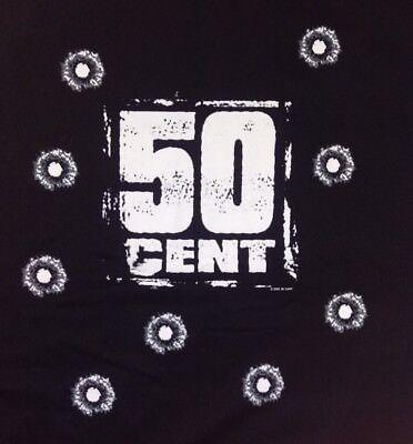 Vintage 50 Cent Get Rich or Die Tryin 2003 Promo Shirt XL Hip Hop Rap NYC G Unit