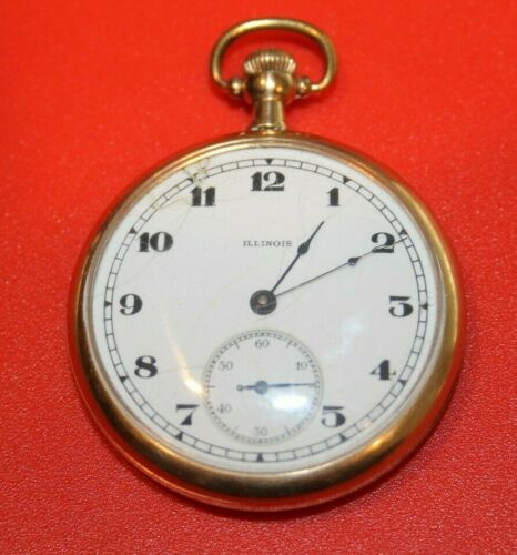 1919 Illinois Penn Special 12s Grade 404 17J GF 20 YEARS CASE Pocket Watch