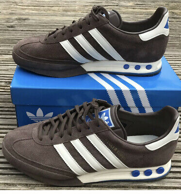 RARE ADIDAS ORIGINALS KEGLER SUPER BROWN SUEDE TRAINERS UK 9 VERY RARE