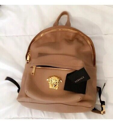VERSACE LEATHER BACKPACK ( Limited edition exclusive )