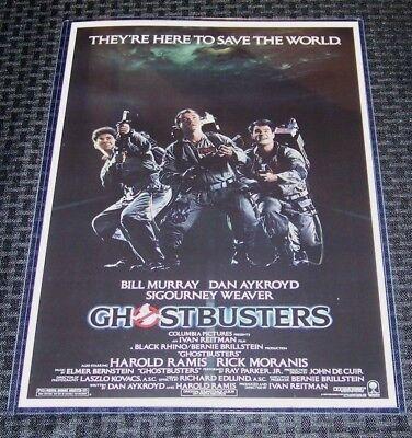 Ghostbusters 11X17 Horror Original Movie Poster
