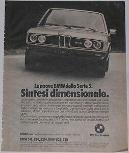 Advert-Pubblicita-1976-BMW-525-SERIE-5-E12