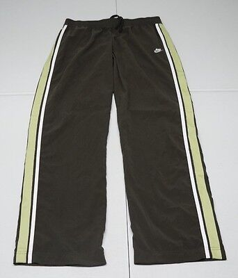 Nike Womens M Green Polyester Unlined Athletic Pants NWOTs