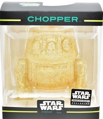 RARE!!! Star Wars Smuggler's Bounty Funko Hikari Rebels Mini Chopper Gold
