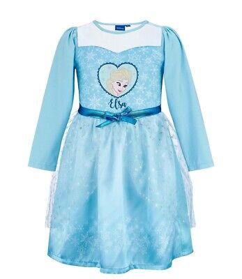 nigin  Langarm Kleid Kostüm Elsa 98 104 116  128  140 NEU (Disney Frozen Königin Elsa Kostüm)