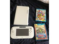 Wii U +2 games for sale.