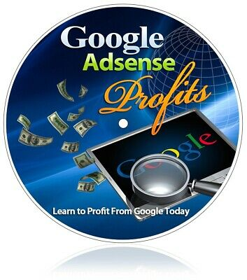Google Adsense Profits Ebook Resell Included Investment Online Business Turnkey