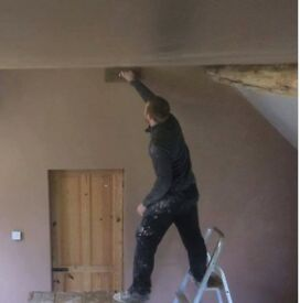 Experienced plasterers inside and outside work guaranteed