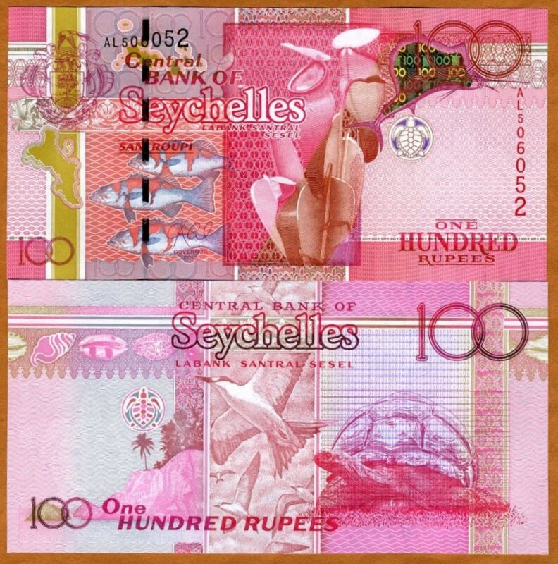 Seychelles, 100 rupees, 2013, P-43b, UNC