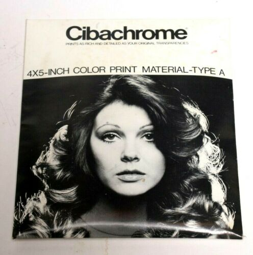 CIBACHROME COLOR PRINT MATERIAL-UNOPENED PACKAGE- VINTAGE  AND COLLECTIBLE!