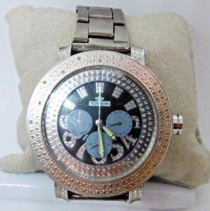 aa5f02ac1 Technolink by Iceberg Genuine Diamond Men's Chronograph Black Dial Watch