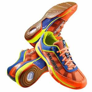 Salming 2016 Viper 3.0 Men's Squash Shoes, Orange (US 10) Stanmore Marrickville Area Preview