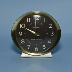 Westclox Big Ben Clock Wind-Up Luminous Table Alarm Vintage