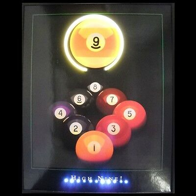 High Nine Neon / LED Lighted Picture 3HIGH9 w/ FREE Shipping