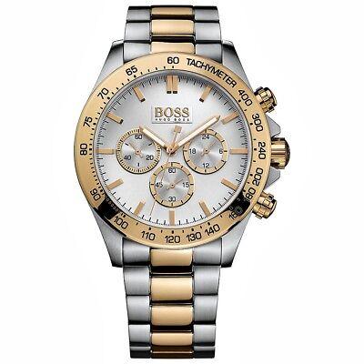 Hugo Boss 1512960 Ikon Chrono Herrenuhr Bi Farbe:Gold/Silber NEU!