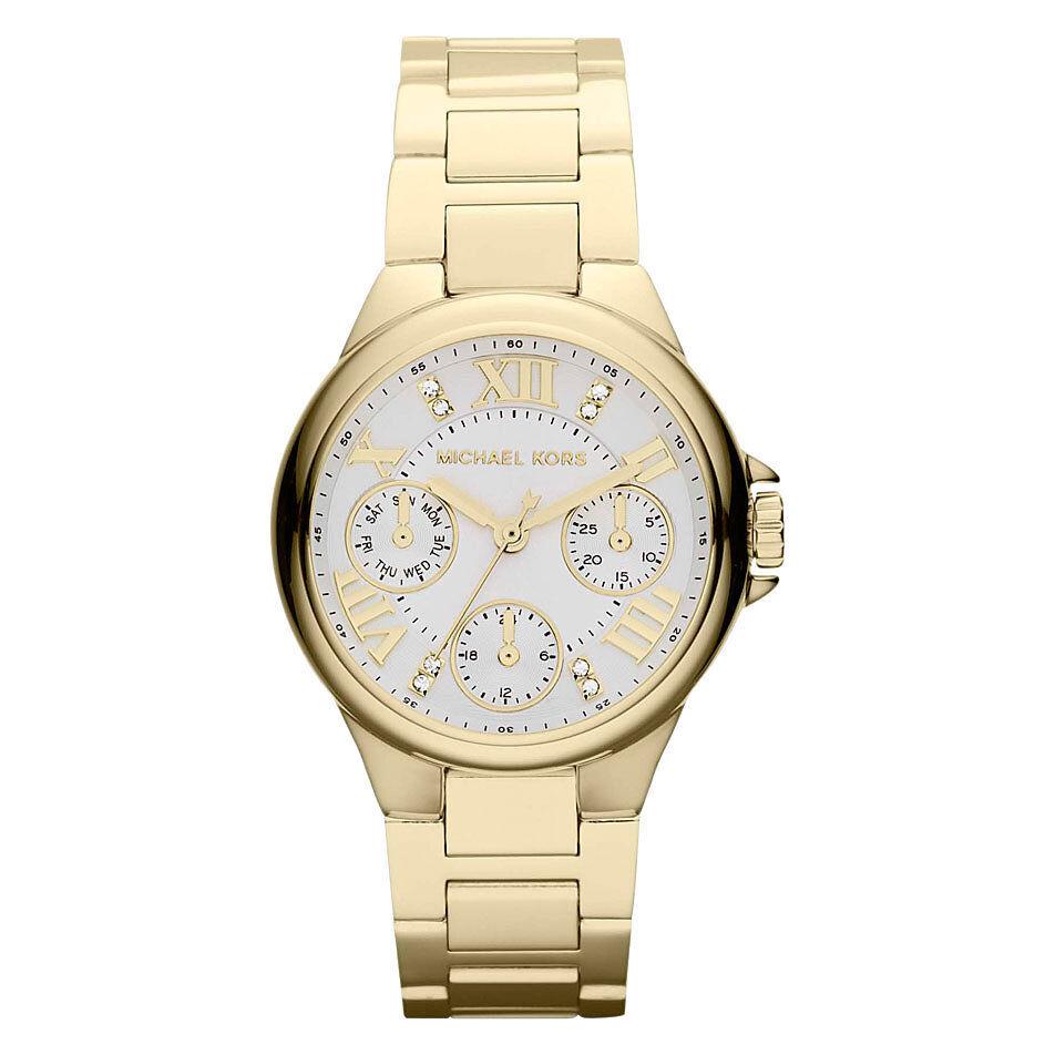 MICHAEL KORS Damen Armbanduhr Uhr Damenuhr gelbgold MK5759  Chronograph