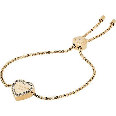 Michael Kors MKJ5389710 Armband IP-Gold Herz Glassteine *NEU