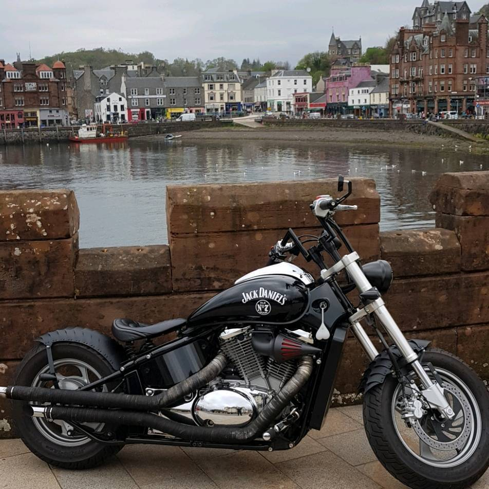 suzuki intruder m800 bobber custom in livingston west. Black Bedroom Furniture Sets. Home Design Ideas