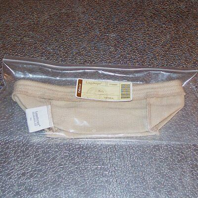 Longaberger Oatmeal TEA Basket Liner... RARE ~ Brand New in Original -