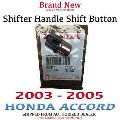 Genuine OEM 2003 - 2005  Honda Accord Shifter Handle Button Knob 54132-SDA-A81 ()