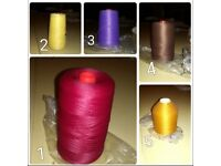 Cheap sewing threads
