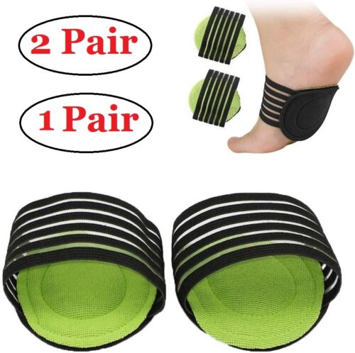 2/4 Pcs Plantar Fasciitis Therapy Wrap brace Arch Support for Heel Foot Pain Clothing & Shoe Care