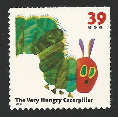 The Very Hungry Caterpillar Eric Carle US Postage Stamp of Book MINT CONDITION!](The Hungry Hungry Caterpillar)