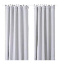 IKEA Vilborg Curtains - Grey
