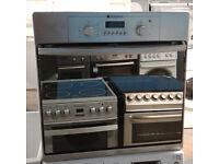 a408 stainless steel hotpoint single electric oven comes with warranty can be delivered or collected