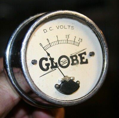 GLOBE Volt Voltmeter Amp Gauge - Model 354 Type 203