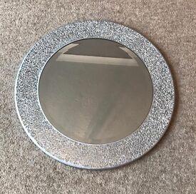Silver Mosaic Mirror
