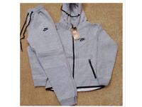 LT Grey & Black Full Jogging Tracksuit Brand New