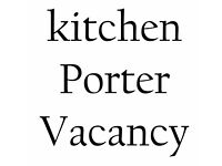 Kitchen Porter