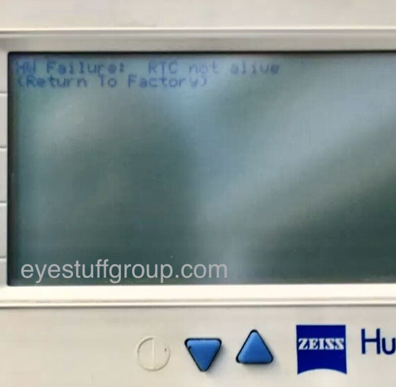Zeiss Humphrey FDT 710 RTC Not Alive Repair Service