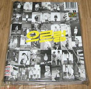 EXO-EXO-K-XOXO-1ST-ALBUM-REPACKAGE-GROWL-Kiss-Version-CD-FOLDED-SPECIAL-POSTER