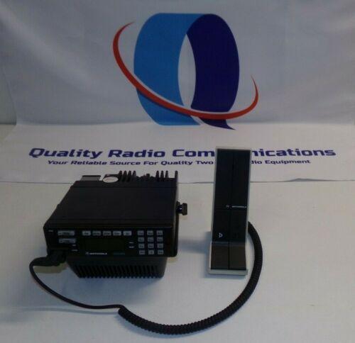 Motorola Astro 800 MHz Two Way Radio w Speaker Tray $ Desk Mic D04UJH9PW7AN